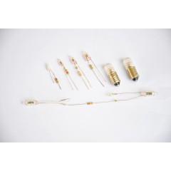 Micro-lamp Neon resister various